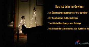 Runifico, Adventskalender, Laufblog, Laufsport, Weihnachten