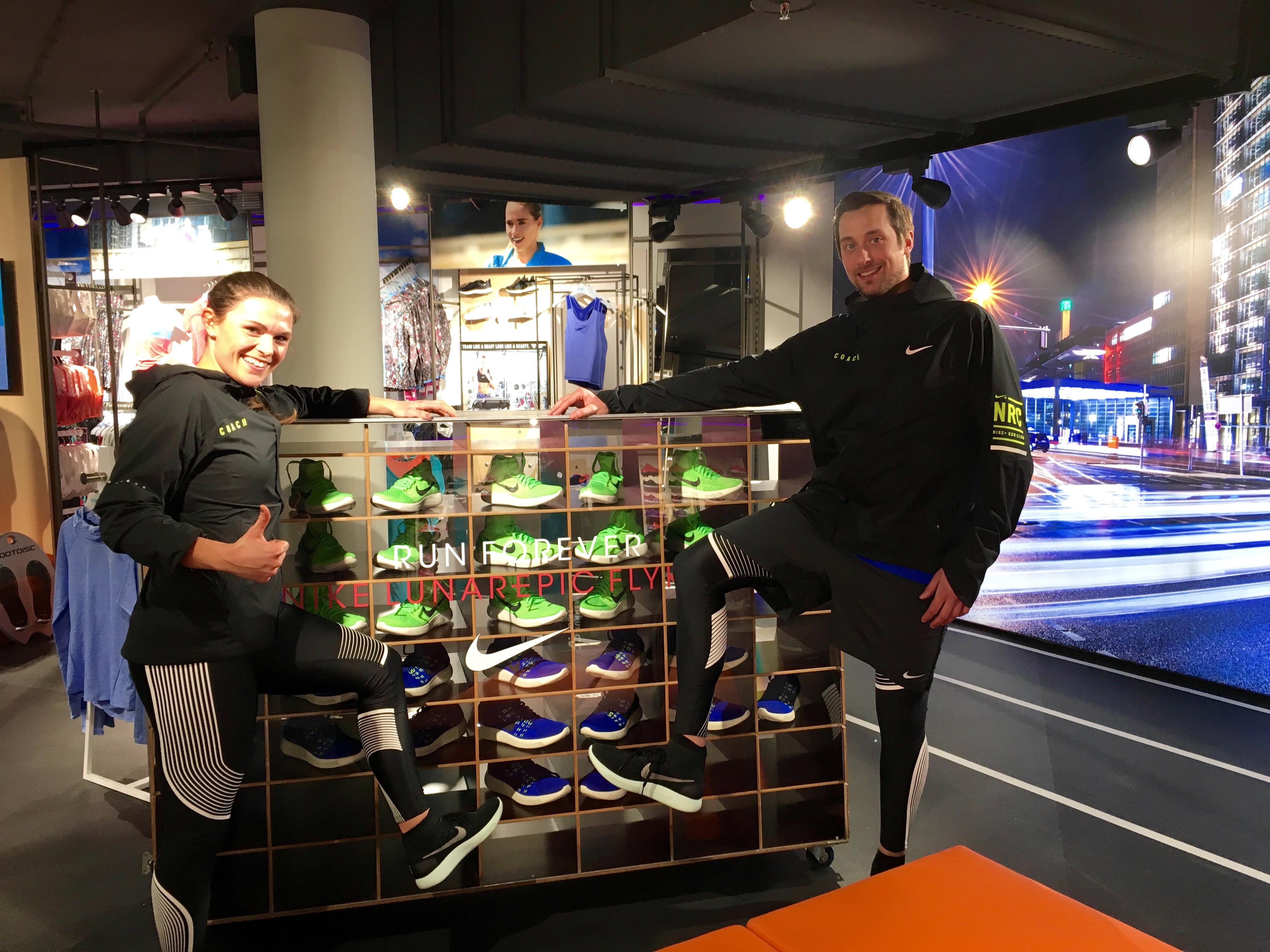 Mit dem brandneuen Nike Lunar Epic