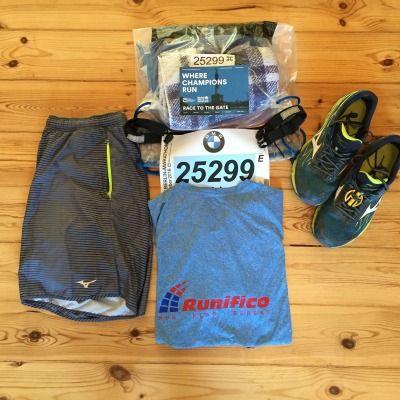 Vorbereitet für den Berlin Marathon 2016