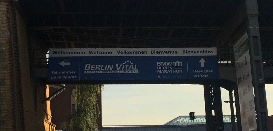 Berlin Vital 2016,Banner,Messe